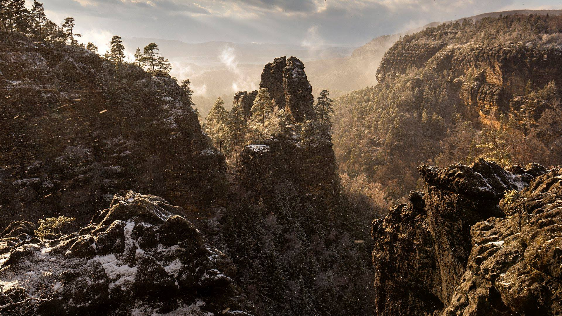 Narnia - shooting location Saxon Switzerland