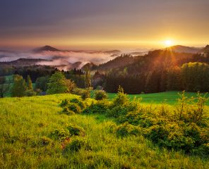 Where to experience best sunsets in Bohemian Switzerland | Northern Hikes