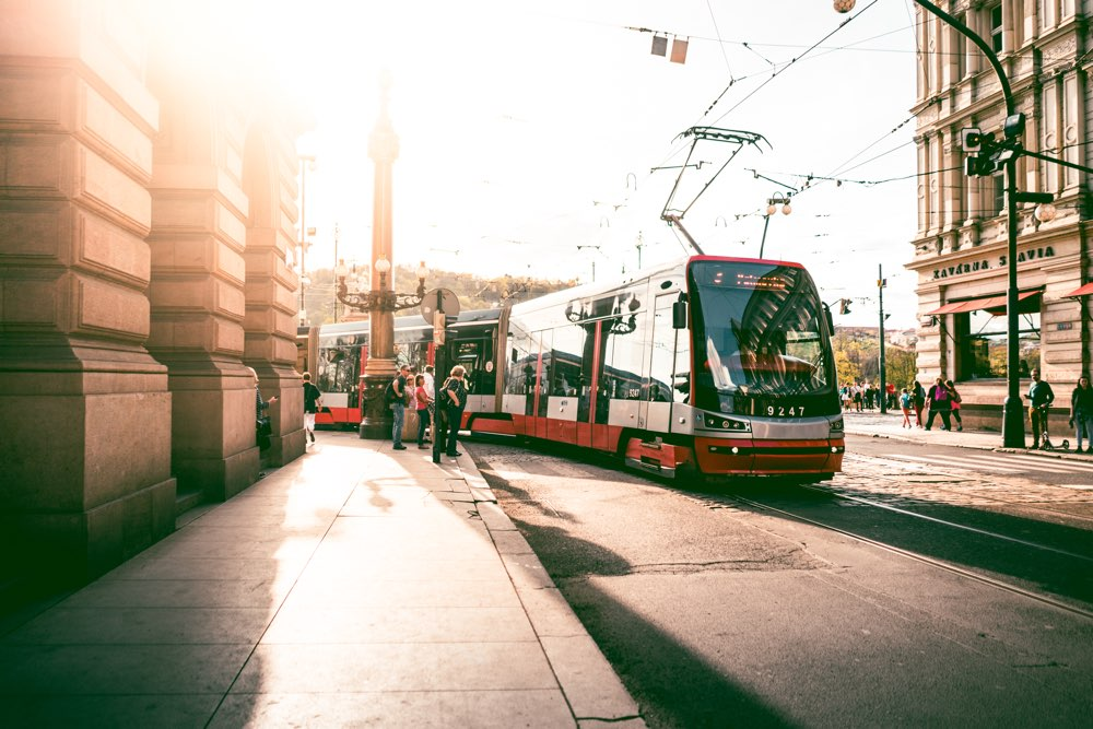Trolley, Prague